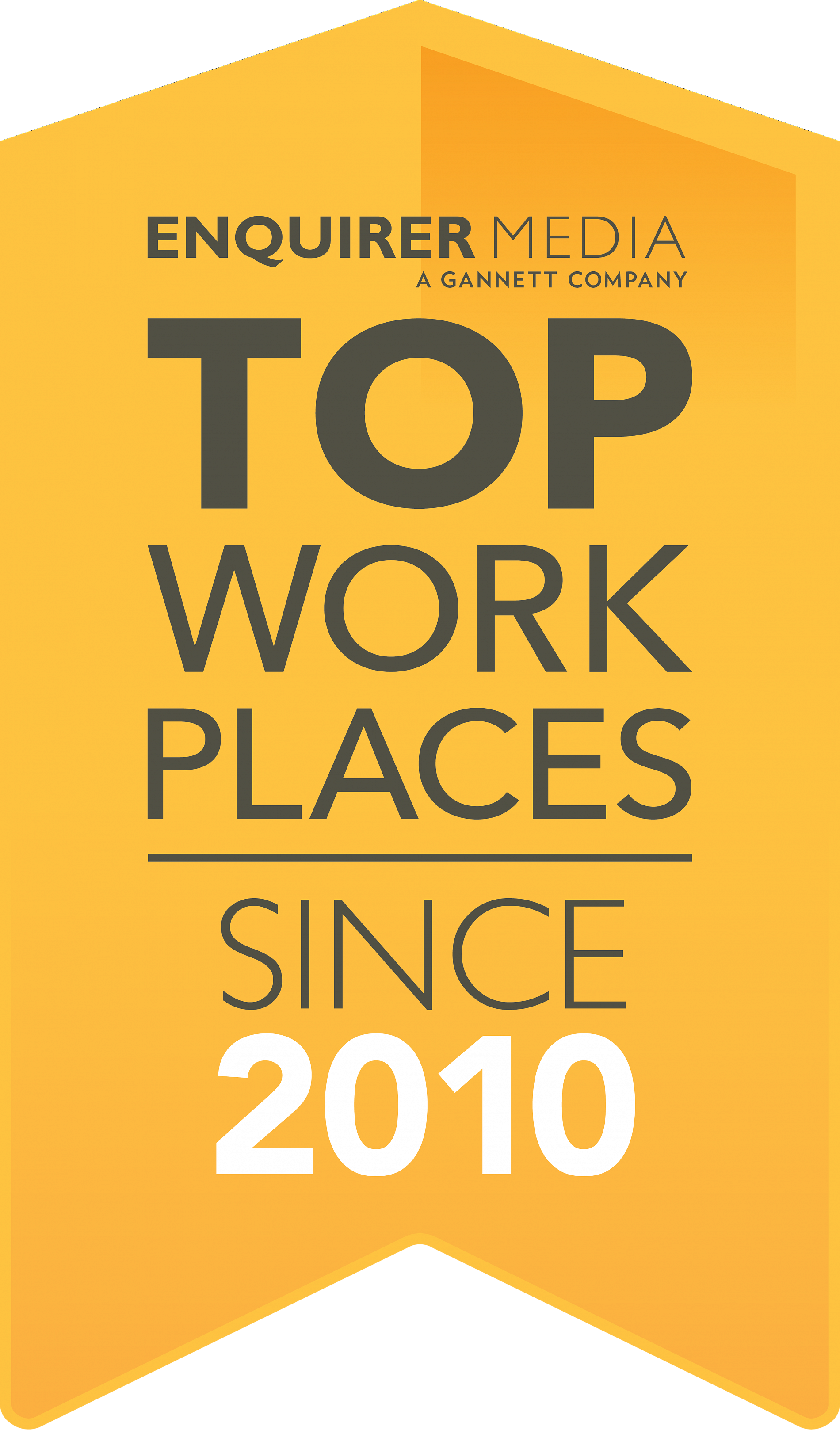 Top Work Places Since 2010
